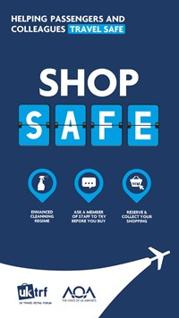 shop safe - helping passengers and colleagues travel safe